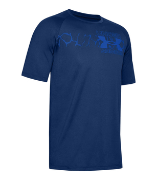 Under Armour UA Tech 2.0 Graphic T-Shirt Blue