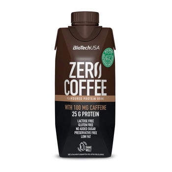 BioTech USA Zero Coffee Protein Drink 330ml