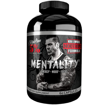 5% Nutrition Rich Piana Mentality (NOOtropic) 60 Kapseln
