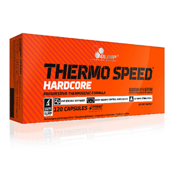 Olimp Thermo Speed Hardcore 120 Mega Caps Kapseln Schachtel