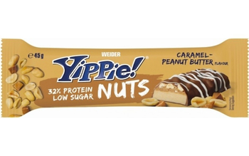 Weider Yippie! Nuts Protein Bar 32% Eiweiss 45g Riegel