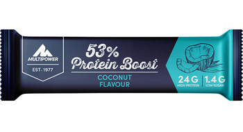 Multipower 53% Protein Boost Bar 20 x 45g Riegel Kiste