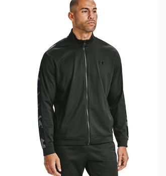 Under Armour Unstoppable Track Jacket Baroque Green Black