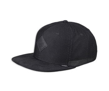 Djinns 6P Snapback Cap Honey Nylon Black