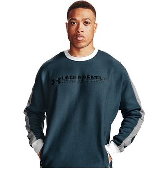 Under Armour Rival Fleece AMP Crew Sweater