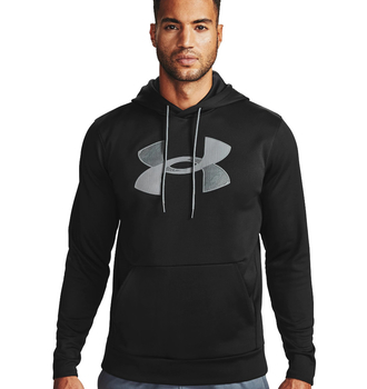 Under Armour Fleece Big Logo Hoodie Black