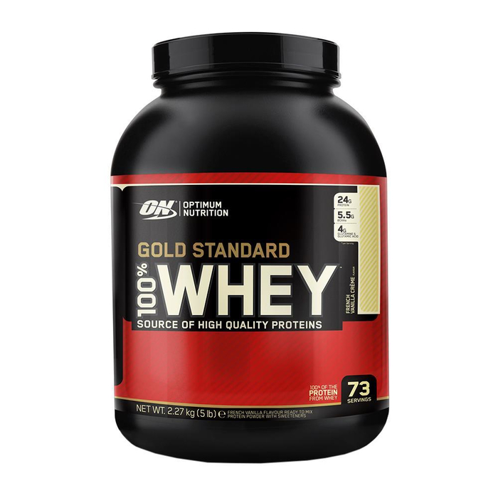 Optimum Nutrition 100% Whey Gold Standard 2270g Dose